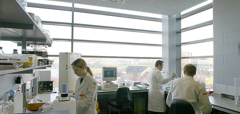 Interior view of the Liverpool Biosciences Centre