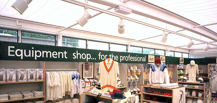 Interior view of Lord's Shop