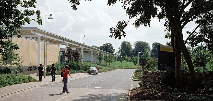 Exterior View of English Institute of Sport