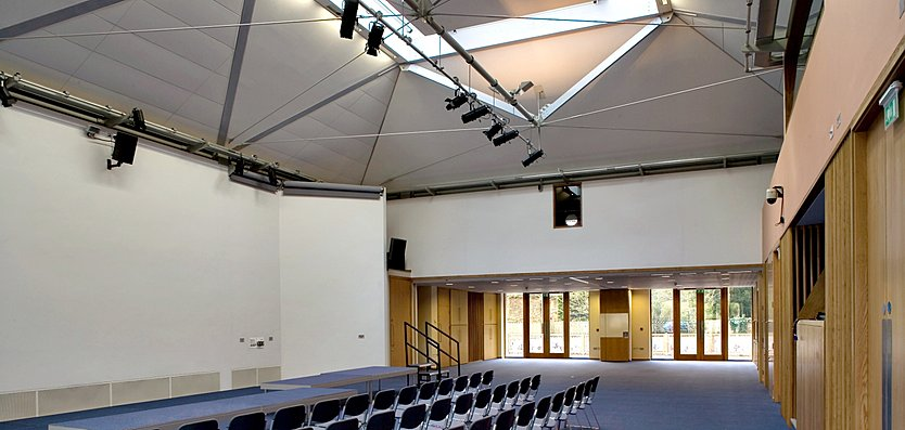 Interior view of the Centre for Two St James
